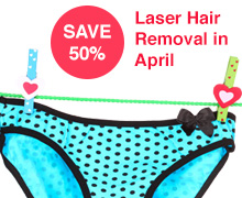 laser hair removal promo