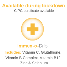 Immun-o-Drip during lockdown