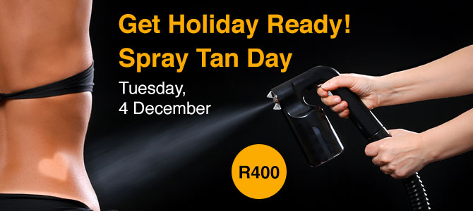 spray tan promo